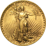 St. Gaudens Gold Double Eagle Coin