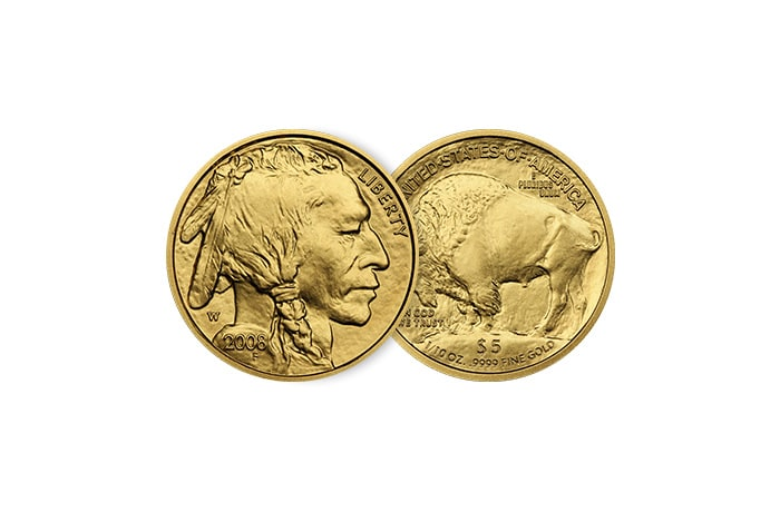 1/10 Troy oz American Buffalo Gold Coin