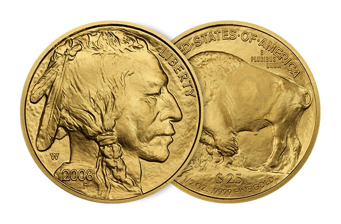 ½ Troy oz American Buffalo Gold Coin