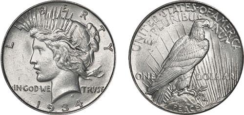 U.S. Peace Dollar