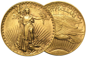 $20 Saint-Gaudens Gold Double Eagle