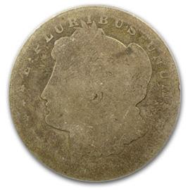 morgan silver dollar p-1