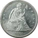 Seated Liberty Dollar (Silver)