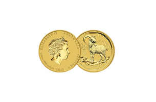 1/20 oz Australian Lunar Gold Series