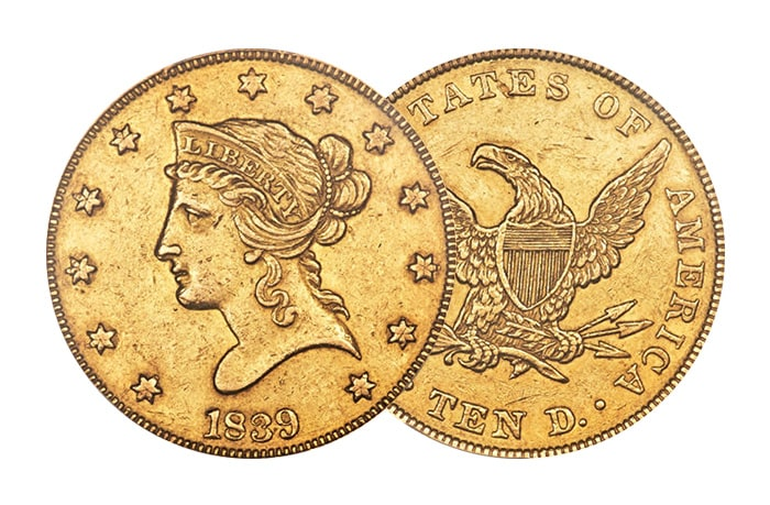 Liberty Head Gold Eagle $10