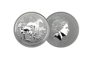 1/2oz Australian Lunar Silver Series