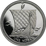 Isle of Man Noble Platinum Coin