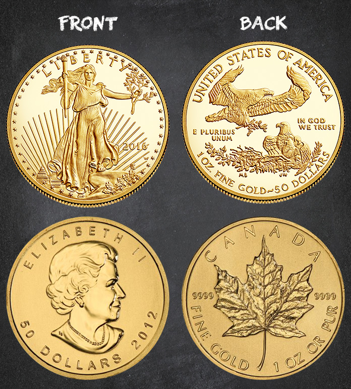 Similarities And Differences Between Both Gold Coins