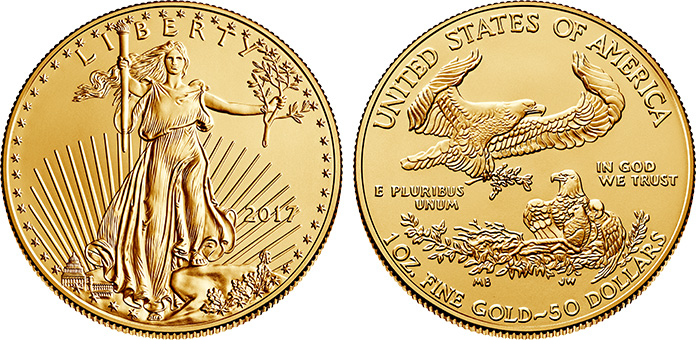 Authentic American Gold Eagle Coin